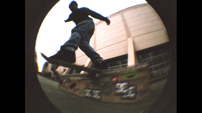 Jr B/S Tail Slide