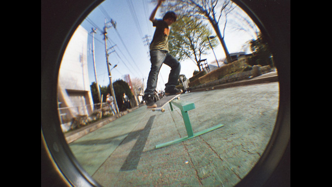 Little B/S Feeble Grind